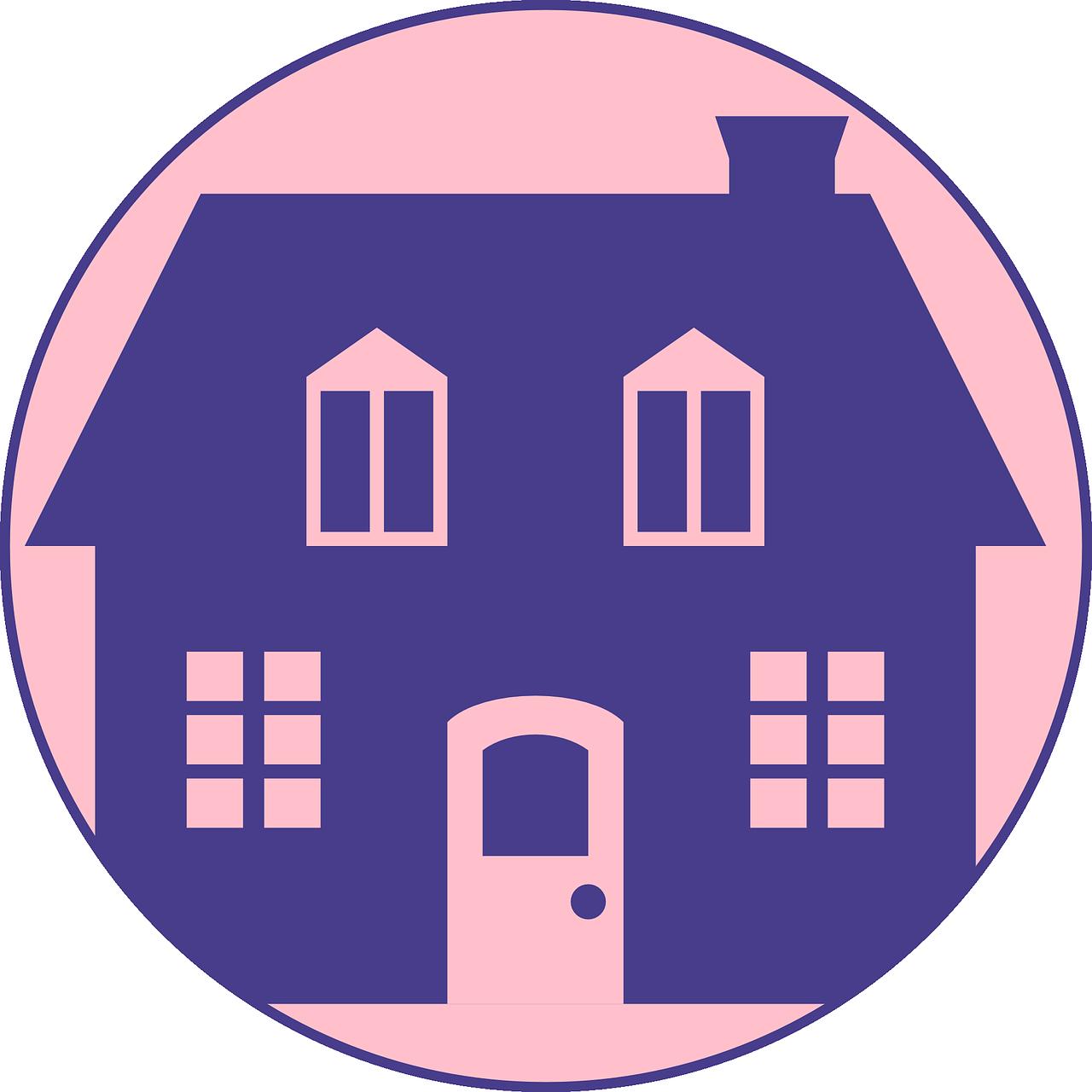 תמונה של בית מצויר