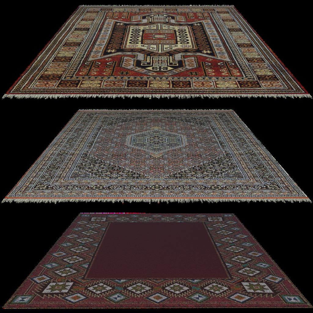 סוגים שונים של שטיחים